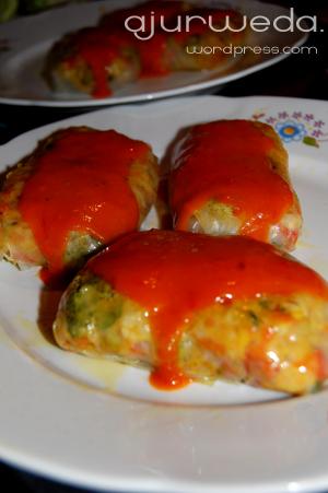 gołąbki wegetariańskie