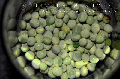 ajurweda, ayurveda, pasztet z zielonego groszku